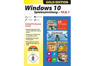Windows 10 Spielesammlung - Gold Edition - PC