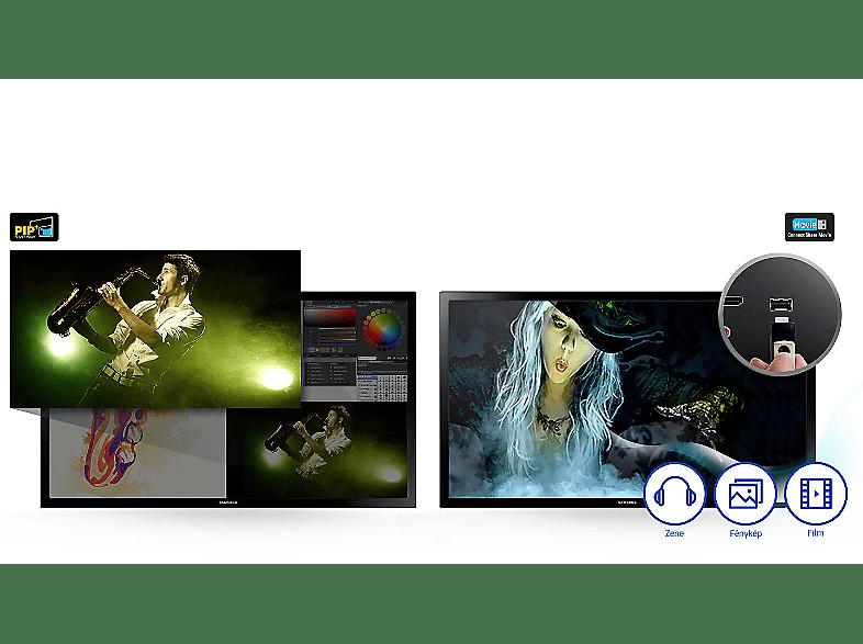 SAMSUNG T24E310 60cm LED TV monitor funkcióval - MediaMarkt