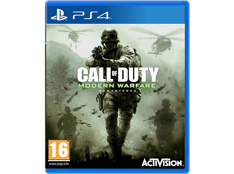 Call of Duty Modern Warfare Remastered PlayStation 4 gaming games ps4 games