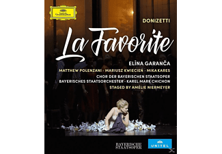Elina Garanca, Matthew Polenzani, Mariusz Kwiecień, Mika Kares, Chor der Bayrischen Staatsoper, Bayerisches Staatsorchester, Karel Mark Chichon - La Favorite - (Blu-ray)