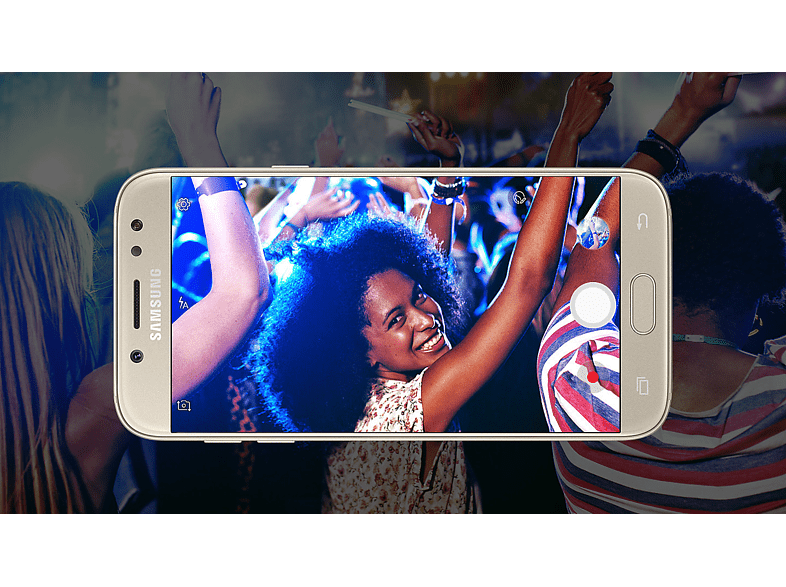 SAMSUNG Galaxy J5 (2017) Dual SIM arany kártyafüggetlen okostelefon (SM-J530)