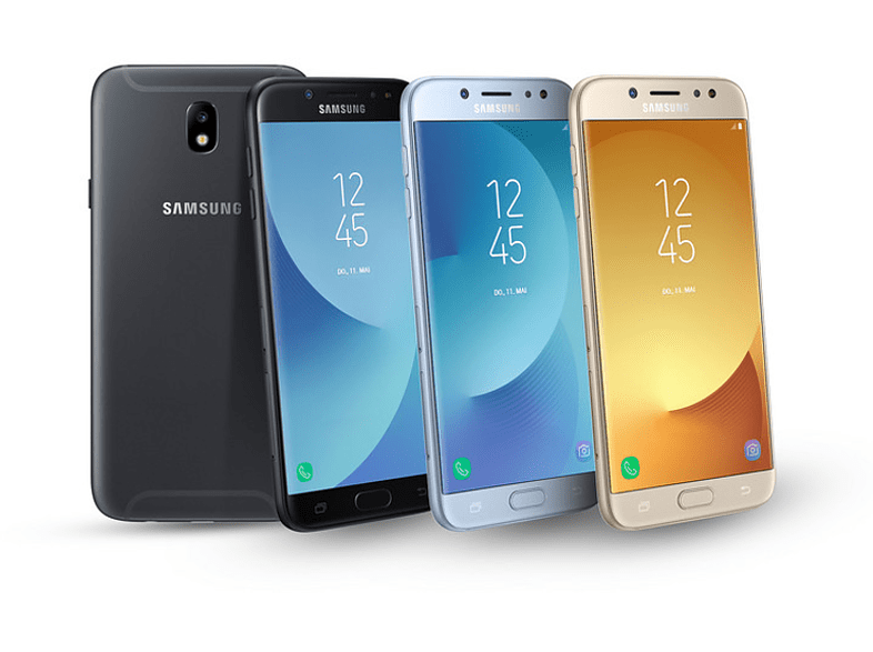 SAMSUNG Galaxy J5 (2017) Dual SIM fekete kártyafüggetlen okostelefon (SM-J530)