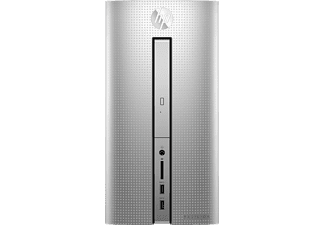 HP Pavilion Desktop - 570-p024ng, PC mit Intel® Core™ i7 der siebte Generation Prozessor, 8 GB RAM, 1 TB HDD, 128 GB SSD, GeForce® GTX 1050
