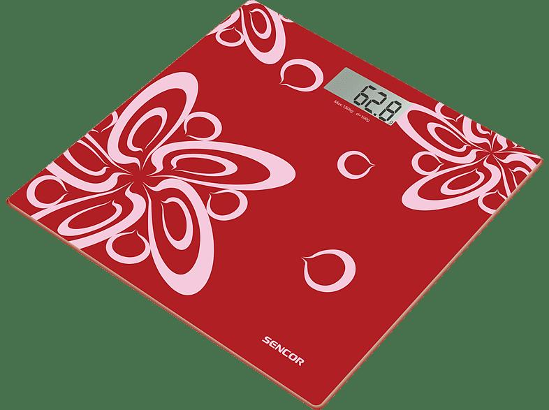 SENCOR SBS 2507 Red προσωπική φροντίδα   παιδί υγεία ζυγαριές σώματος