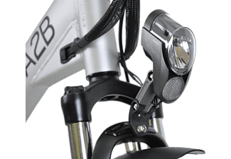 A2B Speed 20 Citybike (24 Zoll, 51 cm, Y-Rahmen, 612 Wh, Rot)