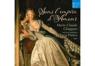 Chappuis, Marie-Claude / Pianca, Luca - Sous l'Empire d'Amour-French Songs f.Mezzosoprano - (CD)