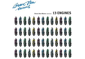 13 Engines - Brave New Waves Session (LTD Blue Vinyl) - (Vinyl)
