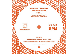 Timothy J. Fairplay - Mindfighter EP - (Vinyl)