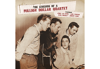 VARIOUS - Legends Of A Million Dollar Quartet - (Vinyl)