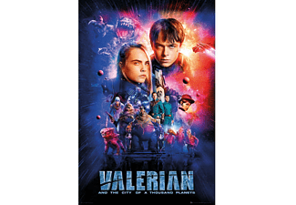 Valerian and the City of 1000 Planets Poster on sheet