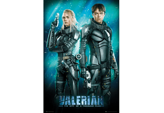 Valerian an the City of 1000 Planets Poster Duo