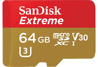 SAN DISK SANDISK 64GΒ MICRO SD EXTREME 100MB/sec
