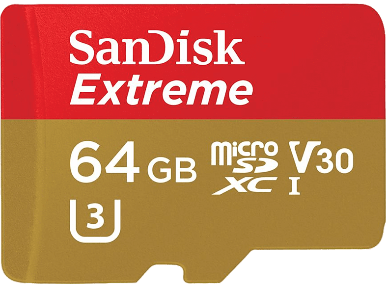SAN DISK SANDISK 64GΒ MICRO SD EXTREME 100MB/sec laptop  tablet  computing  tablet   ipad κάρτες μνήμης hobby   φωτογραφία φωτογρ