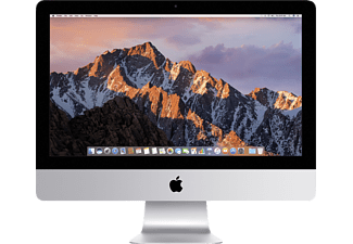 APPLE MNE02D/A iMac, All-in-One PC mit 21.5 Zoll, 1 TB Speicher, 8 GB RAM, Core i5 Prozessor, Silber