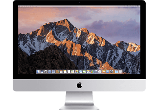 APPLE MNED2D, All-in-One PC mit 27 Zoll, Retina Display, 5K Display, 2 TB Speicher, 64 GB RAM, Core i7 Prozessor, Silber