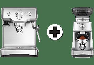 Solis espressomachine Barista 118 + bonenmaler 1611 Caffisima