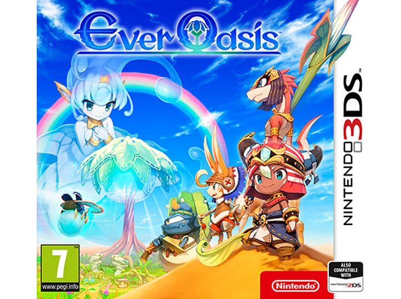 Ever Oasis Nintendo 3DS gaming φορητές κονσόλες games 2ds  3ds