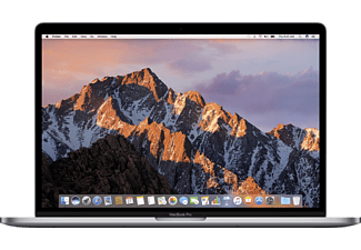 APPLE MPTR2D/A MacBook Pro mit Touch Bar, Notebook mit 15.4 Zoll Display, Core i7 Prozessor, 16 GB RAM, 256 GB SSD, Radeon Pro 555, Space Grey