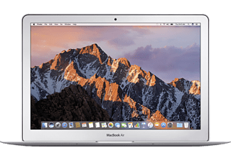 APPLE MacBook Air mit US-Tastatur, Notebook mit 13.3 Zoll Display, Core i7 Prozessor, 8 GB RAM, 256 GB SSD, HD Graphics 6000, Silber