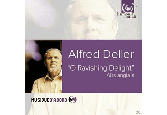 Deller & Munrow & Lee & Dupre & Ell - O Ravishing Delight - (CD)
