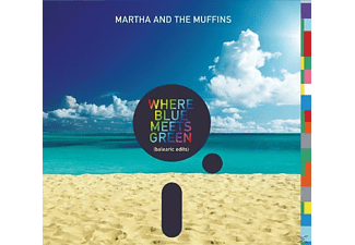 Martha And The Muffins - Where Blue Meets Green (Balearic Edits) - (CD)