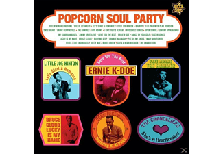 VARIOUS - Popcorn Soul Party-Blended Soul And R&B 1958-62 - (Vinyl)