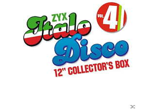 VARIOUS - Italo Disco 12 Inch Collector s Box 4 - (CD)