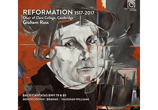 Graham Ross, Choir Of Clare College Cambridge - Reformation 1517-2017 - (CD)