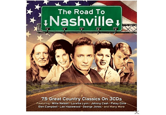 VARIOUS - Road To Nashville - (CD)