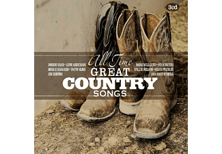 VARIOUS - All Time Great Country Songs - (CD)