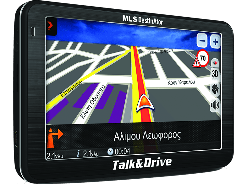 MLS Destinator Talk & Drive 510M Europe smartphones   smartliving συσκευές πλοήγησης  gps πλοήγηση