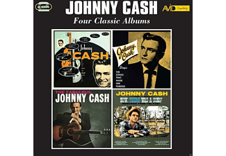 Johnny Cash - Four Classic Albums - (CD)