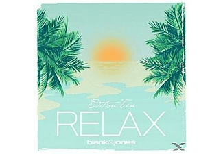 Blank & Jones - Relax Edition 10 (Ten)-Black Vinyl - (Vinyl)