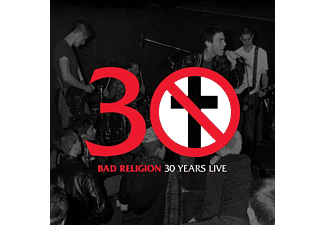 Bad Religion - 30 Years Live (Black) (Vinyl LP (nagylemez))