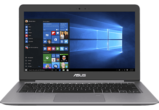 ASUS UX310UA-FC694T I5-7200U/8GB/256 SSD GREY, Notebook mit 13.3 Zoll Display, Core™ i5 Prozessor, 8 GB RAM, 256 GB SSD, HD-Grafik 620, Quartz Gray