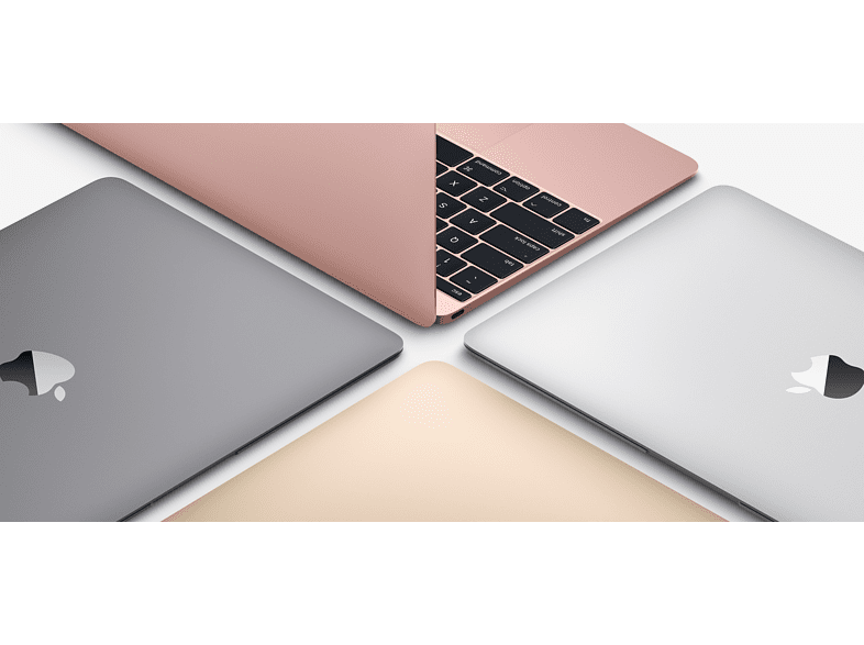 "APPLE MacBook 12"" Retina (2017) rozéarany Core M3/8GB/256GB SSD (mnym2mg/a)"