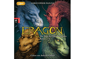 ERAGON – Die Saga des Drachenreiters - 16 MP3-CD - Science Fiction/Fantasy