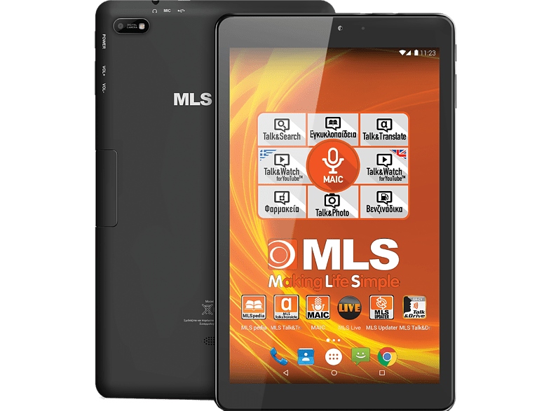 MLS Brave 3G & Micro SD 16GB laptop  tablet  computing  tablet   ipad android tablet