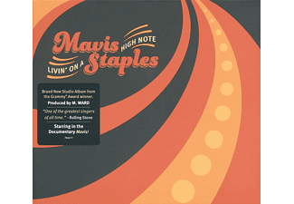 Mavis Staples - Livin' On A High Note (CD)
