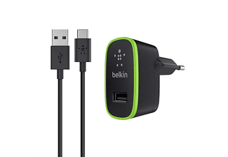 Belkin Micro AC Chgr 2.1A w-6' A-USBC Blk (F7U001vf06-BLK)