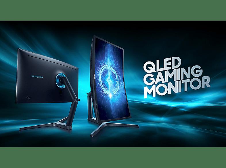 """SAMSUNG C32HG70 31,5"""" ívelt gamer monitor 144Hz 1ms 2x HDMI, DisplayPort Quantum Dot technológiával"""