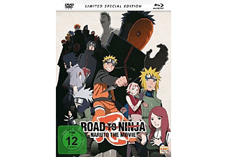 Road to Ninja: Naruto The Movie - (Blu-ray + DVD)