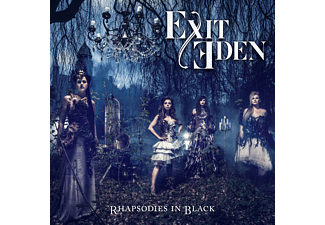 Exit Eden - Rhapsodies in Black (+ Poster +Booklet) [CD]