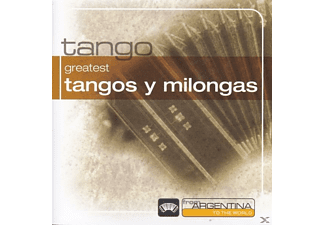 VARIOUS - Greatest Tangos Y Milongas-F - (CD)
