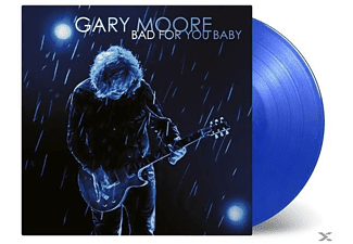 Gary Moore - Bad For You Baby (LTD Transparent Blue Vinyl) - (Vinyl)