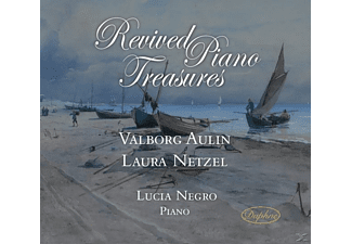 Lucia Negro - Revived Piano Treasures - (CD)