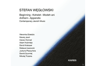 Stefan Weglowski - Contemporary Jewish Music - (CD)