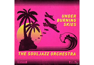 The Souljazz Orchestra - Under Burning Skies - (Vinyl)