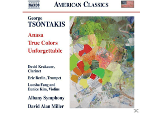 D.A./Albany SO Krakauer/berlin/miller - Anasa/True Colors/Unforgettable - (CD)