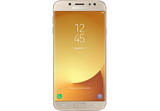 SAMSUNG Galaxy J7 (2017) Duos, Smartphone, 16 GB, 5.5 Zoll, Gold, LTE